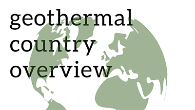 geothermal country overview