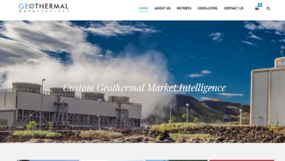 Geothermal Data Services website